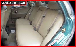 S40 Rear Seat Covers