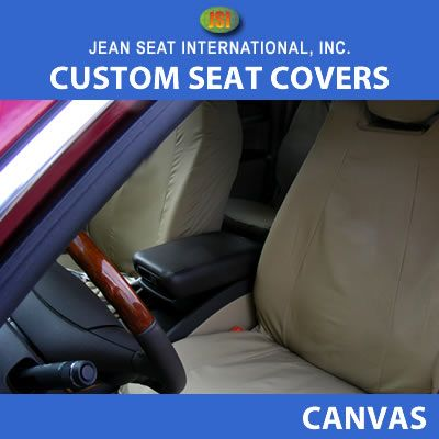 All Buckets Seats 1 Color Canvas Seat Covers