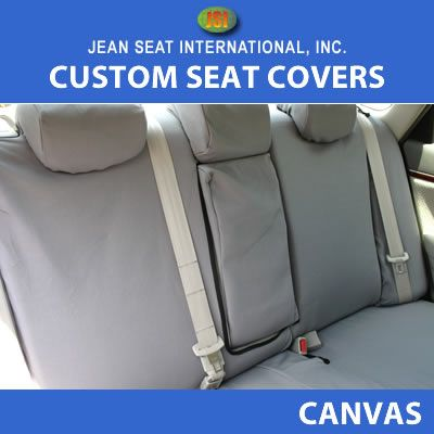 All Other Seat Style 1 Color Canvas Seat Covers