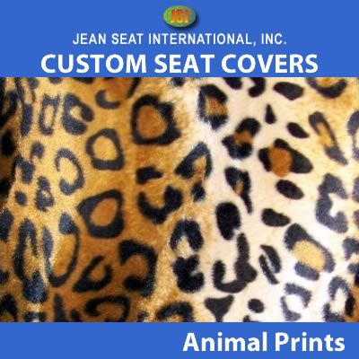 Animal Print Any Seat Style 1 Tone