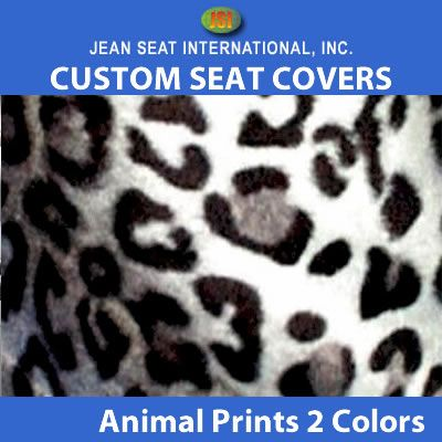 Animal Print Any Seat Style 2 Tones