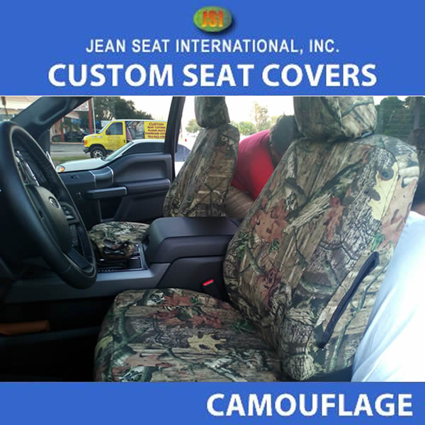 Any Seat Style 2Tone Camo Seat Covers
