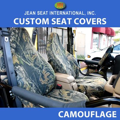 Any Seat Style Camo Seat Covers