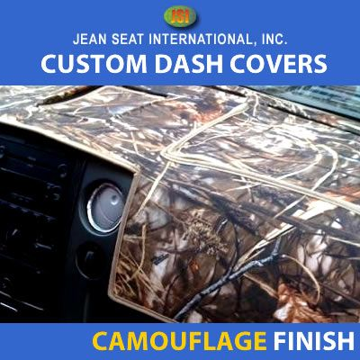 Camo Finish Dash Covers