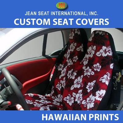 Hawaiian Print 1 Tone Any Seat Style
