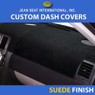 Suede Finish Dash Covers