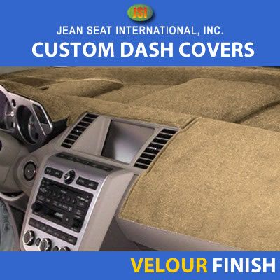 Velour Finish Dash Covers