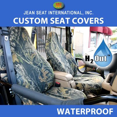 Waterproof Camo Seat Covers Any Seat Style
